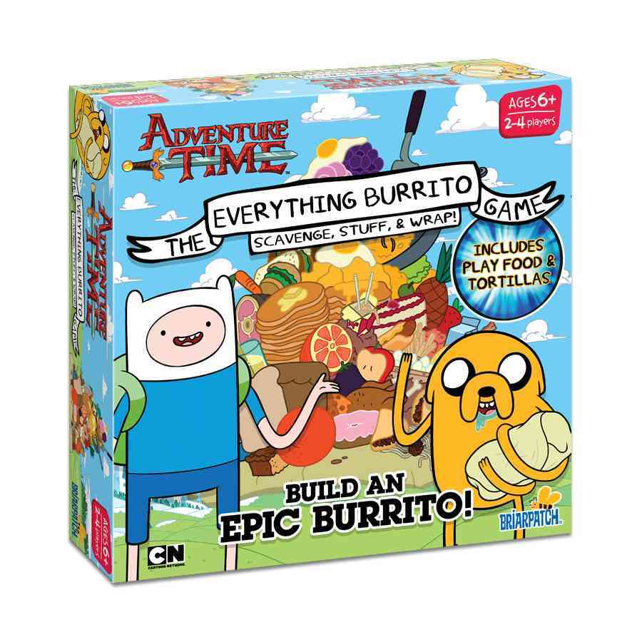 Adventure Time Everything Burrito By Not Available